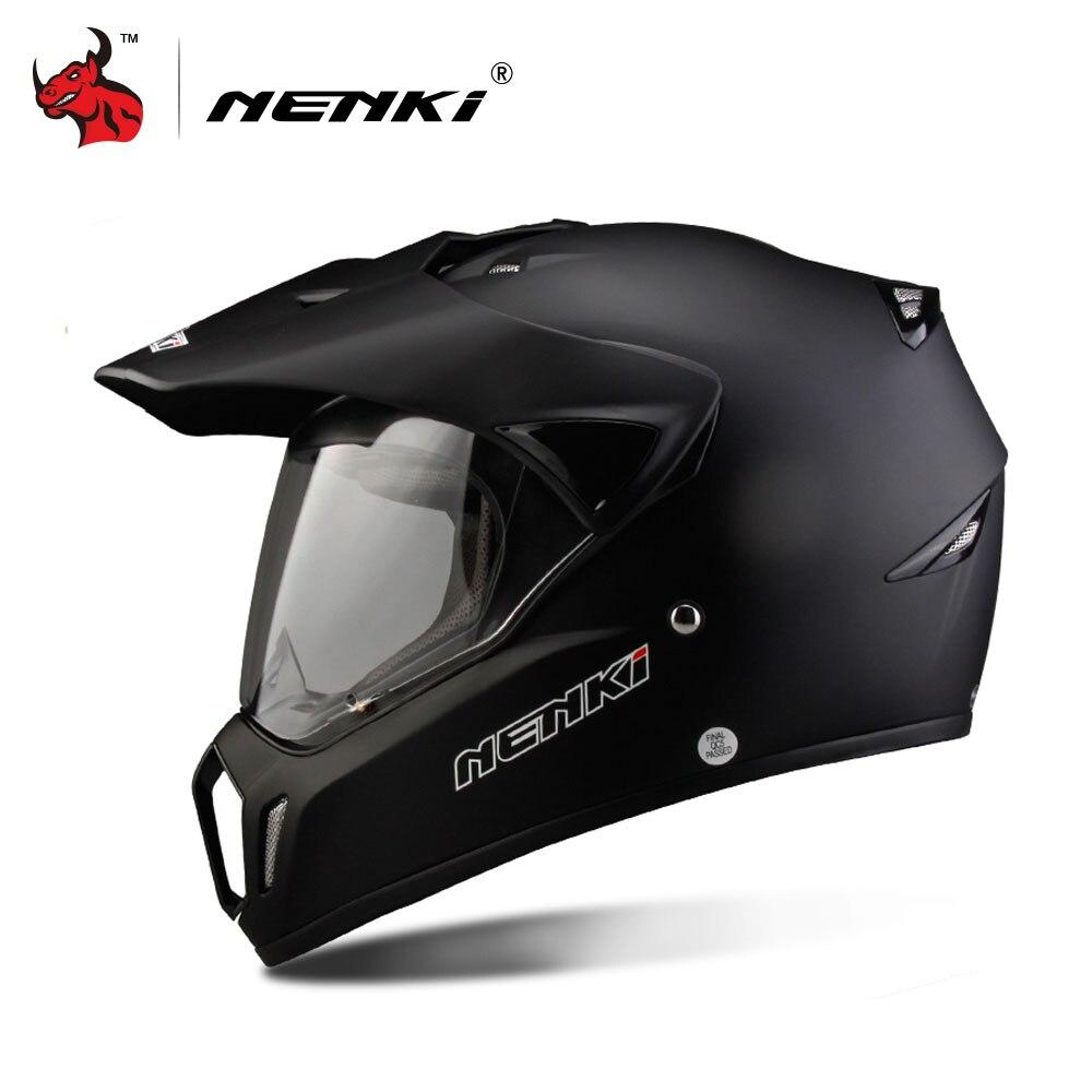 NENKI Mto Racing Helmet Cross Helmet Capacetes Full Face Motorcycle Helmet Motorcycle Adult Motocross Off Road Helmet DOT