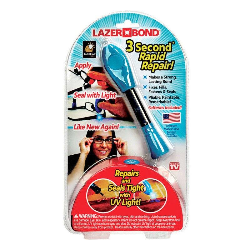 1 Piece 3 Second Fix UV Light Pen Glass Glue Repair Tool With Glue Super Powered Liquid Plastic Welding Compound