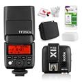 W/Батареи Godox Мини TT350S Вспышка TTL Speedlite HSS GN36 1/8000 S для Sony Беззеркальных DSLR Камеры A7 A6000 A6500/X1T-S