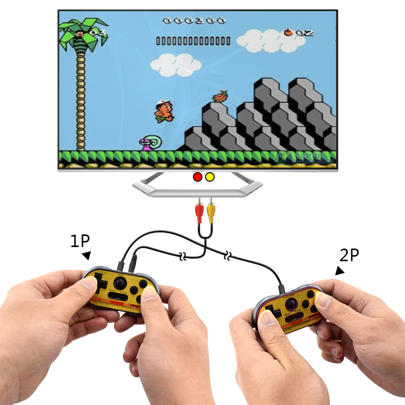 Image 5 - Data Frog Mini Video Gaming Console For Fc30 Pro Build In 260 Classic Games 8 Bit Handheld Game Players Support Tv Output-in Handheld Game Players from Consumer Electronics