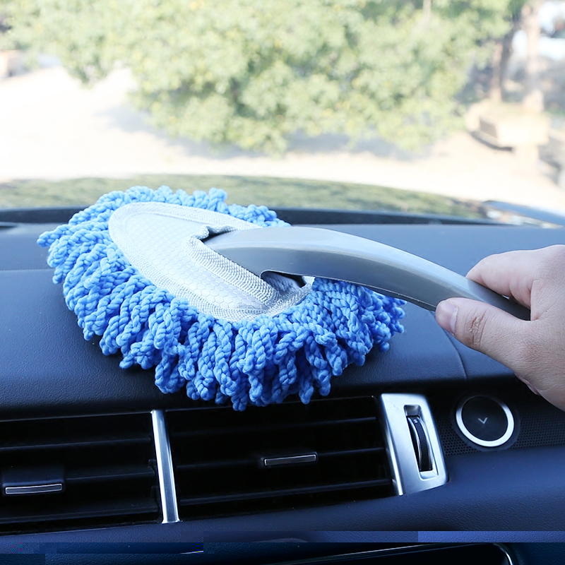 New Car Wash Car Cleaning Accessories Vehicle Beauty Cleaning Mop Small Car Wax Soft Brush