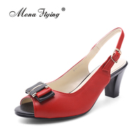 Free Shipping 2015 New Women S Shoes Genuine Leather High Heel Women Sandals Dress Shoes For