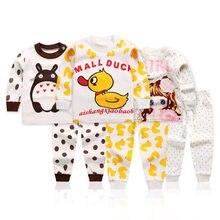 new 2018 boys nightwear girls family christmas pajamas cartoon kids pajama setschildren sleepwear toddler - Cheap Christmas Pajamas