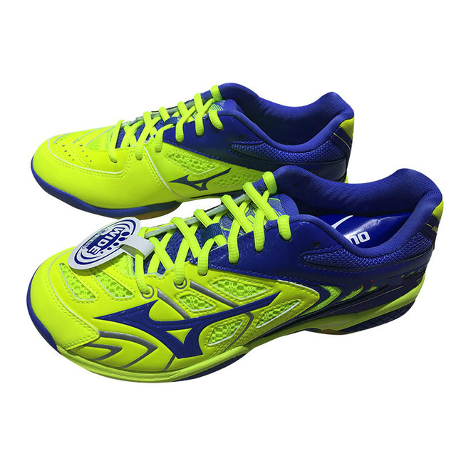 f18b31266b New MIZUNO WAVE FANG RX2 Badminton Shoes for men Light Weight Sports Shoes  Breathable brand Sneakers 71GA171027