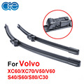 OGE Car Windscreen Wiper Blade For Volvo XC60 XC70 V50 V60 S40 C30 26''+20'' Professional 2Pcs Front Windshield Wiper CPC113