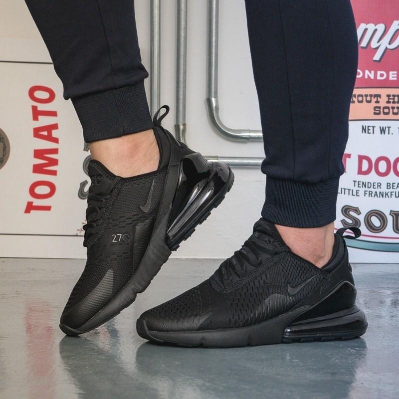 D'origine de Nike Air Max 270 Hommes Respirant chaussures de course en plein Air Sport Confortable à lacets Durable chaussures de jogging AH8050 - 6