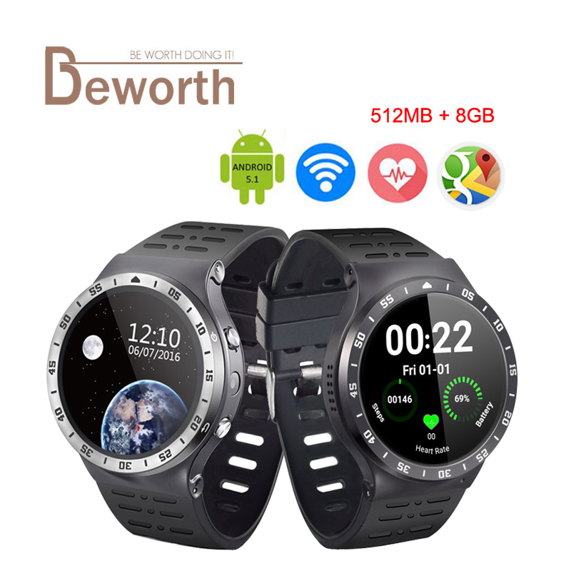 все цены на ZGPAX S99A Quad Core 3G Smart Watch Android 5.1 512M 8GB GPS WiFi Bluetooth 4.0 5.0M HD Camera Heart Rate MTK6580 SmartWatch онлайн