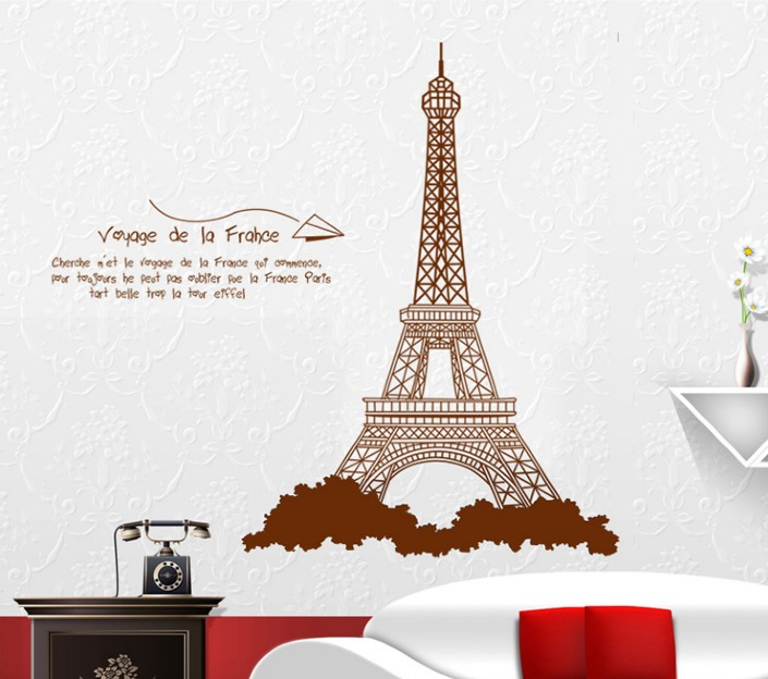 Small Eiffel Tower Wall Decor : Eiffel tower home decor http zizo com au road to