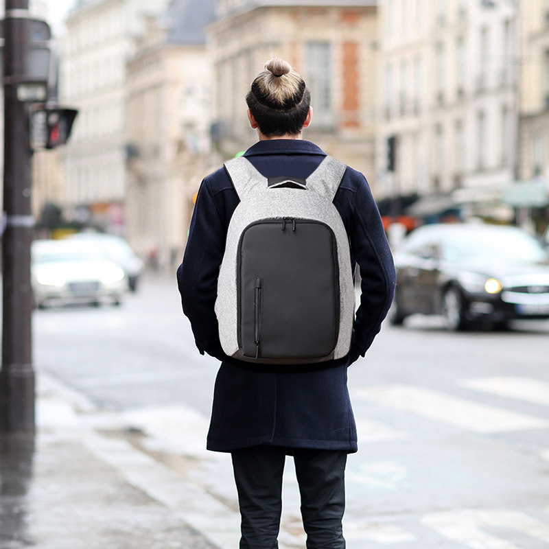 Купить с кэшбэком Tuguan USB Charge Laptop Men Anti Theft Backpack Bag College School Backpacks Designer Brands Fashion Travel Business Women Bags