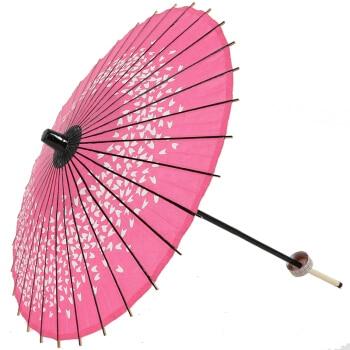 Style chinois classique processus paradis parapluie Style série huile papier parapluie spectacle Cosplay danse Prop parapluie rose