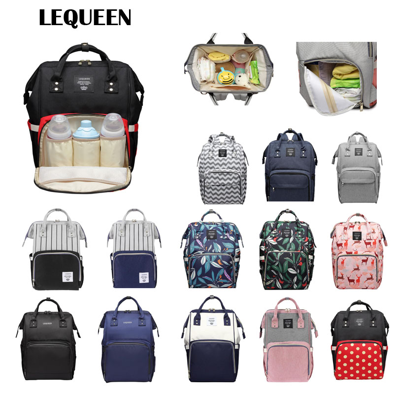 Mummy Maternity Diaper Handbags Large Baby Nursing Travel Backpacks Stroller Accessories Baby Diaper Bottle Backpack