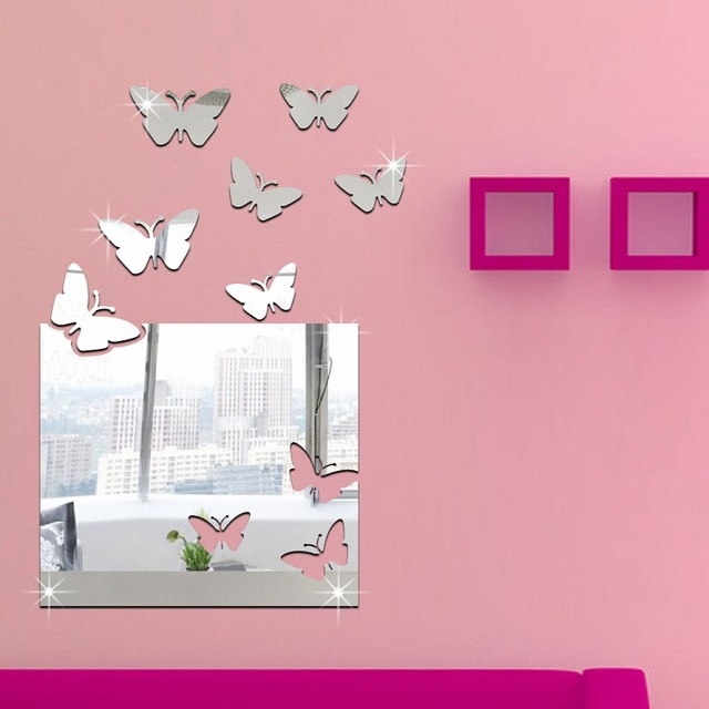 Modern Large Square Butterfly Paste Occident Three dimensional ...