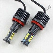 5 комплектов H8 Angel Eyes свет 120 Вт Angel Eyes Передние Фары Комплект Led H8 Противотуманные Фары для X5 E70 X6 E71 E90 E91 E92 M3 E60