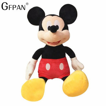 2019 Hot Sale 40-100cm High Quality Stuffed Mickey&Minnie Mouse Plush Toy Dolls Birthday Wedding Gifts For Kids Baby Children 1