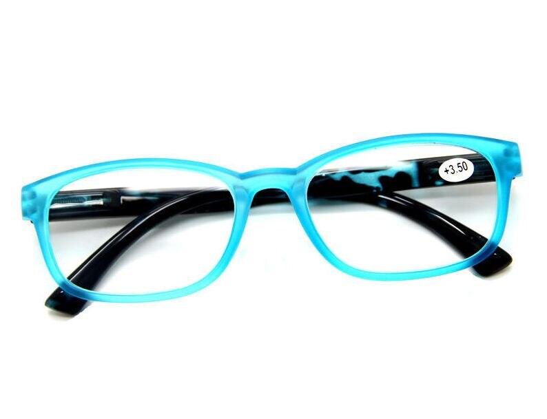 Bright Blue Glasses Frames : Fashion women reading glasses Designer Spring Hinges Round ...