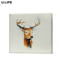 New Famous Brand High Quality Fashion Genuine Leather White Men Wallet Card Holder Leisure Cowhide Leather