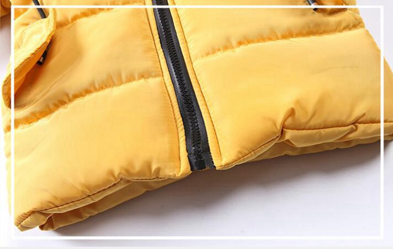 CROAL CHERIE Girls Jackets Kids Boys Coat Children Winter Outerwear & Coats Casual Baby Girls Clothes Autumn Winter Parkas (4)