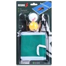 REGAIL Training Competition Ping Pong Ball Net Fix Equipment Practical Table Tennis Set