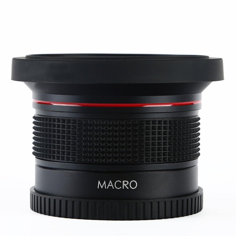 K&F CONCEPT HD 0.35x 58mm/52mm Fisheye Macro Wide Angle Lens for Canon EOS 700D 650D 600D 550D Rebel T5i T4i T3i T2i DSLR Camera 9