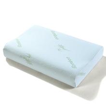 цена Peter Khanun Sleeping Bamboo Memory Foam Orthopedic Pillow Oreiller Pillow Travesseiro Almohada Cervical Kussens Poduszkap 045 онлайн в 2017 году