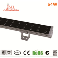 Hot Sales 54pcs RGB Running Horse Function outdoor lighting LED Line Bar Stage spot floodlights