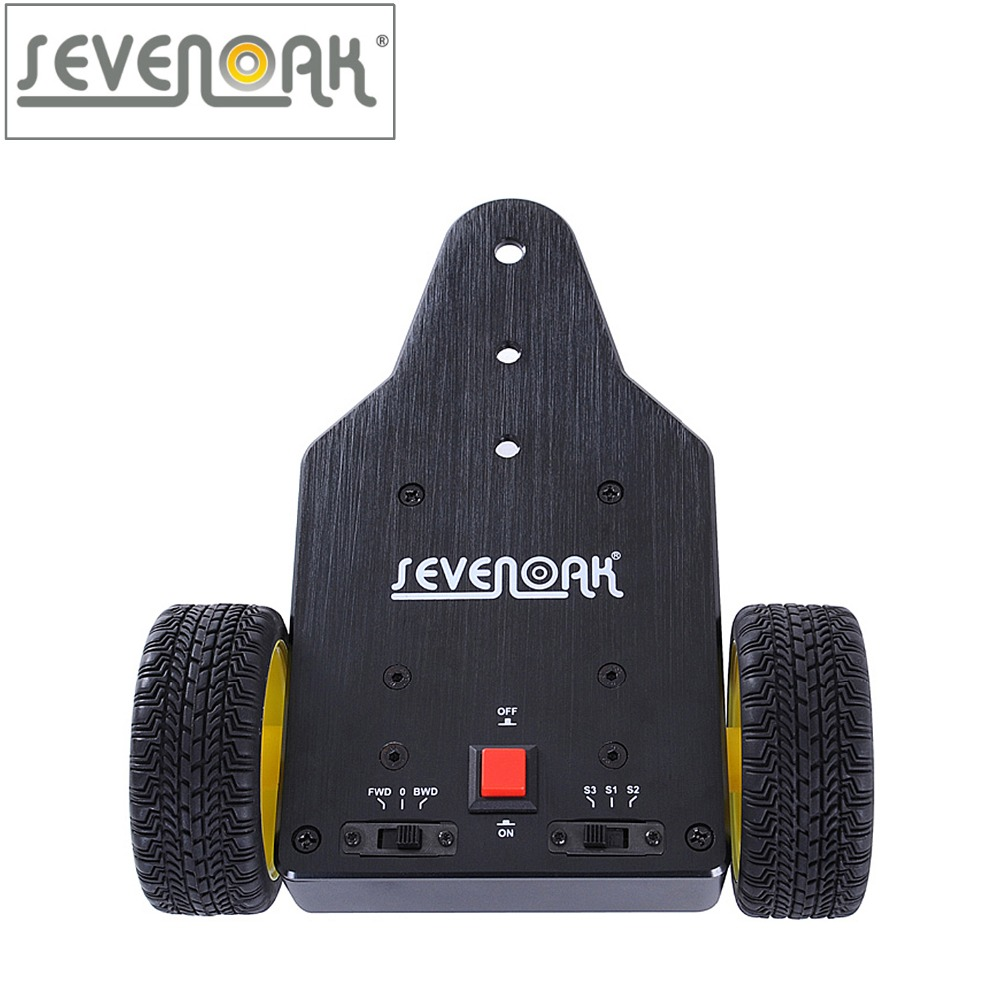 Sevenoak SK-MS01 Motorized Push Cart Dolly Tractor for Camera Canon 5D2 6D Nikon D3200 D7100 Sony Gopro DV Mini Camcorders