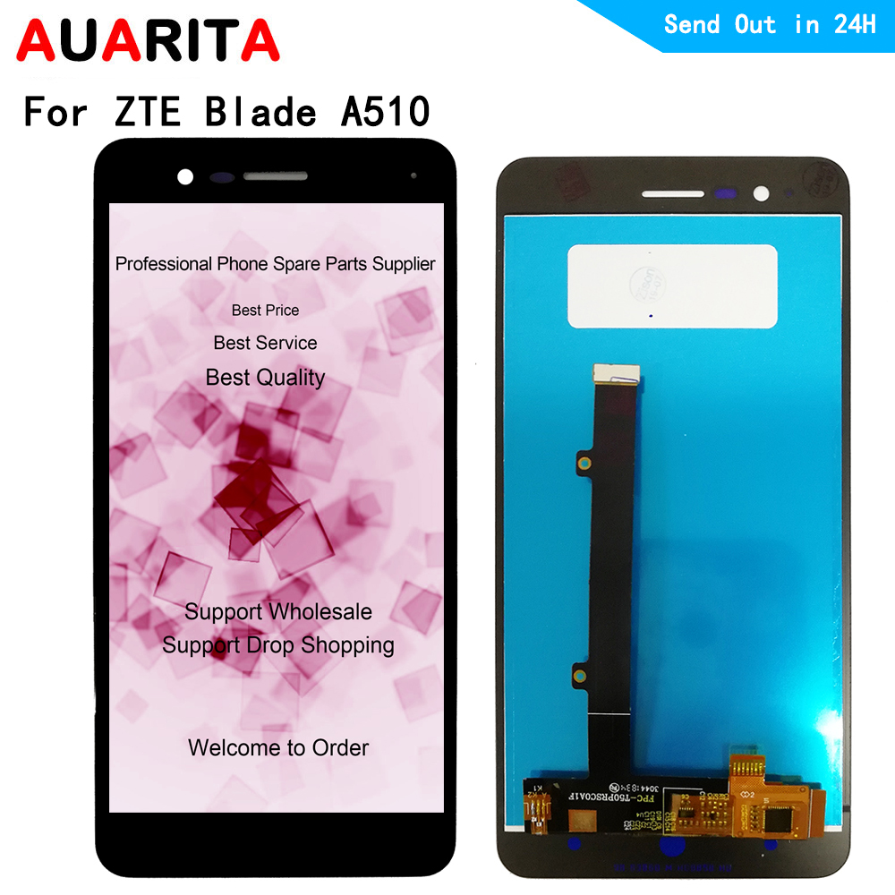 <font><b>LCD</b></font> Für ZTE Klinge <font><b>A510</b></font> <font><b>lcd</b></font> display bildschirm touch panel front äußere glas screen digitizer montage 5,0