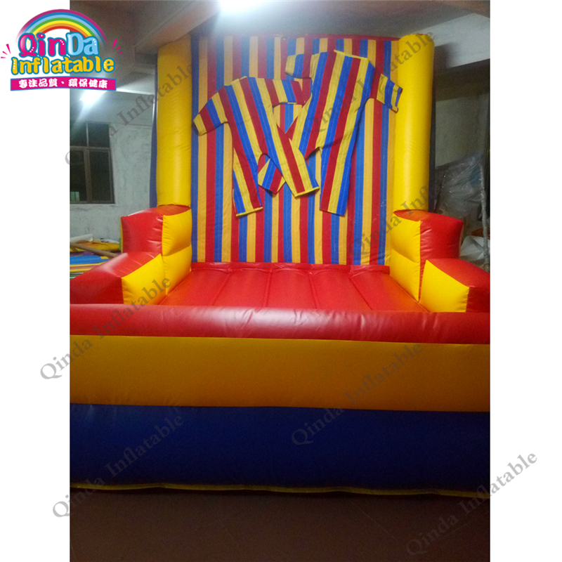Inflatable Bouncers inflatable Clown Stick Wall For Jumping 50% OFF Qualified Blow Up Sticky Suits Inflatable Stick Wall,inflatable Magic Jump Wall