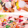 1 Pcs Wall Stickers Butterfly LED Lights Wall Stickers 3D House Decoration Random Color High Quality Wall stickers Wallpaper 2