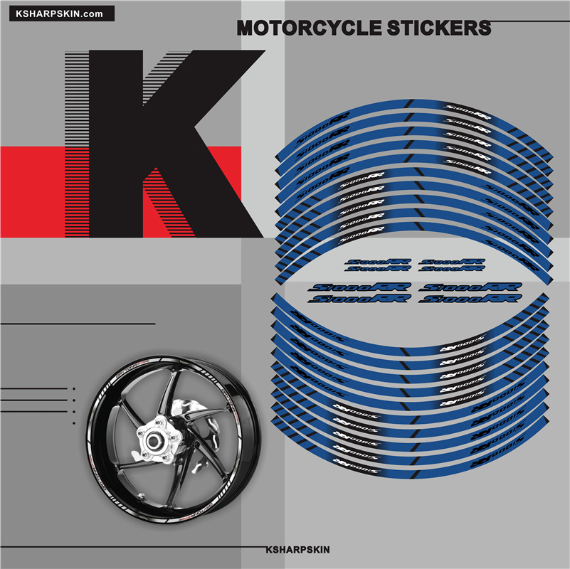Motorcycle Inner Rim Tape Sticker Decal for BMW S1000RR