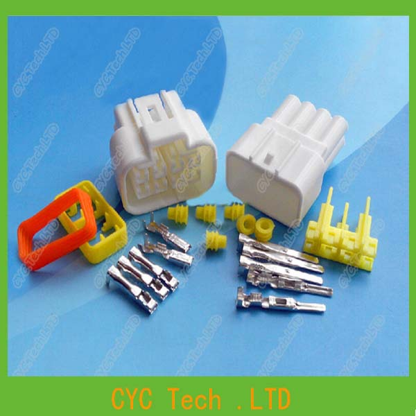 2sets 2 3mm 8pin car waterproof connector electrical wiring 2sets 2 3mm 8pin car waterproof connector electrical wiring harness connector male female kits