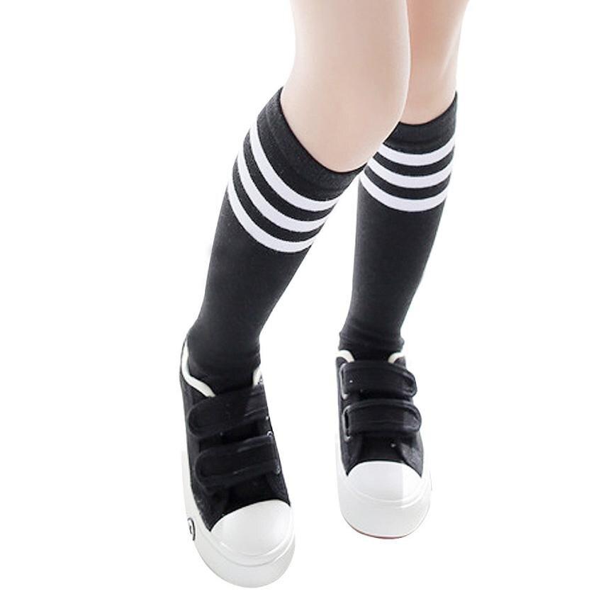 Fútbol calcetines rayas rodilla 3-5 años bebé Invierno Caliente ...