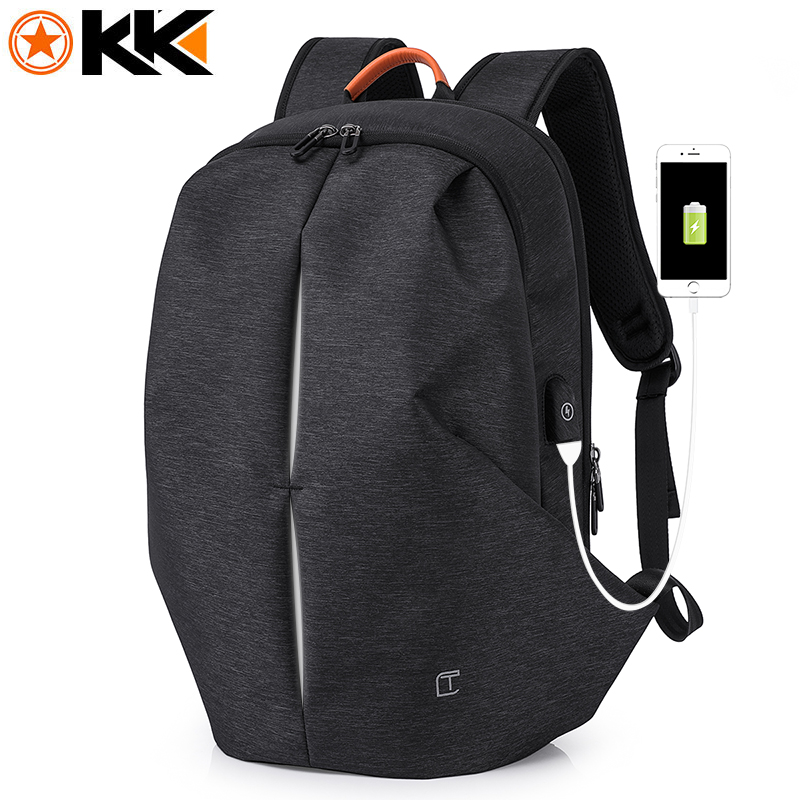 706 Brand Design Cool Stylish Waterproof USB Travel Men's Backpacks Notebook 15.6