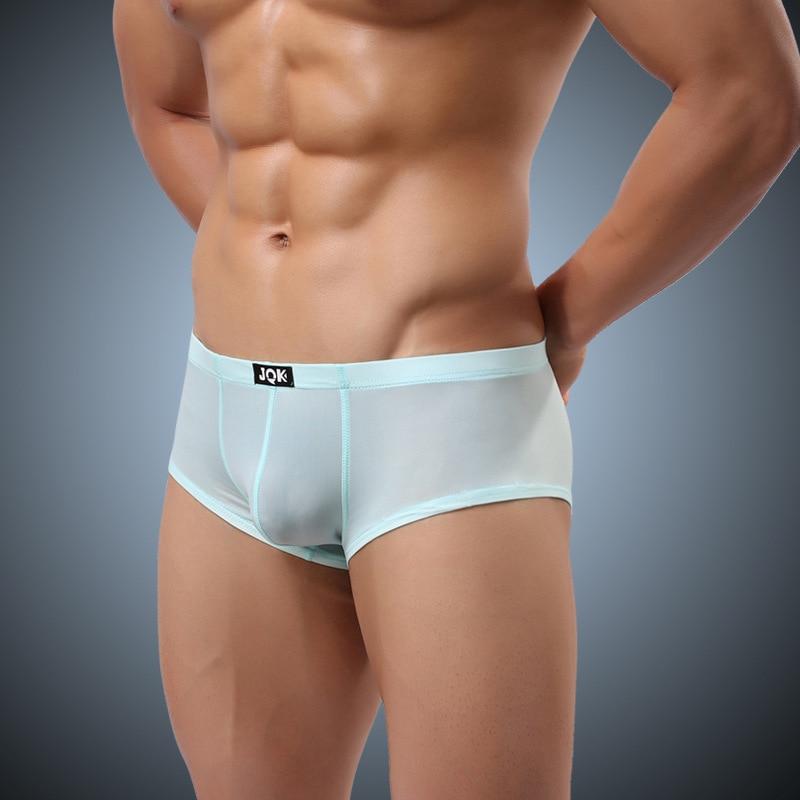 JQK Sexy Men Underwear Polar Ice Thin Waist Lost City VI Sexy Little Pingjiao Skin Comfortable Mens Sexy Underwear 310