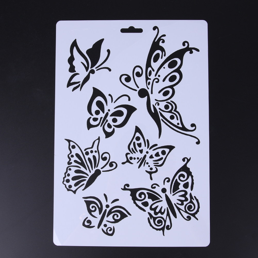Kitchen Stencil Butterfly Stencil Template Promotion Shop For Promotional