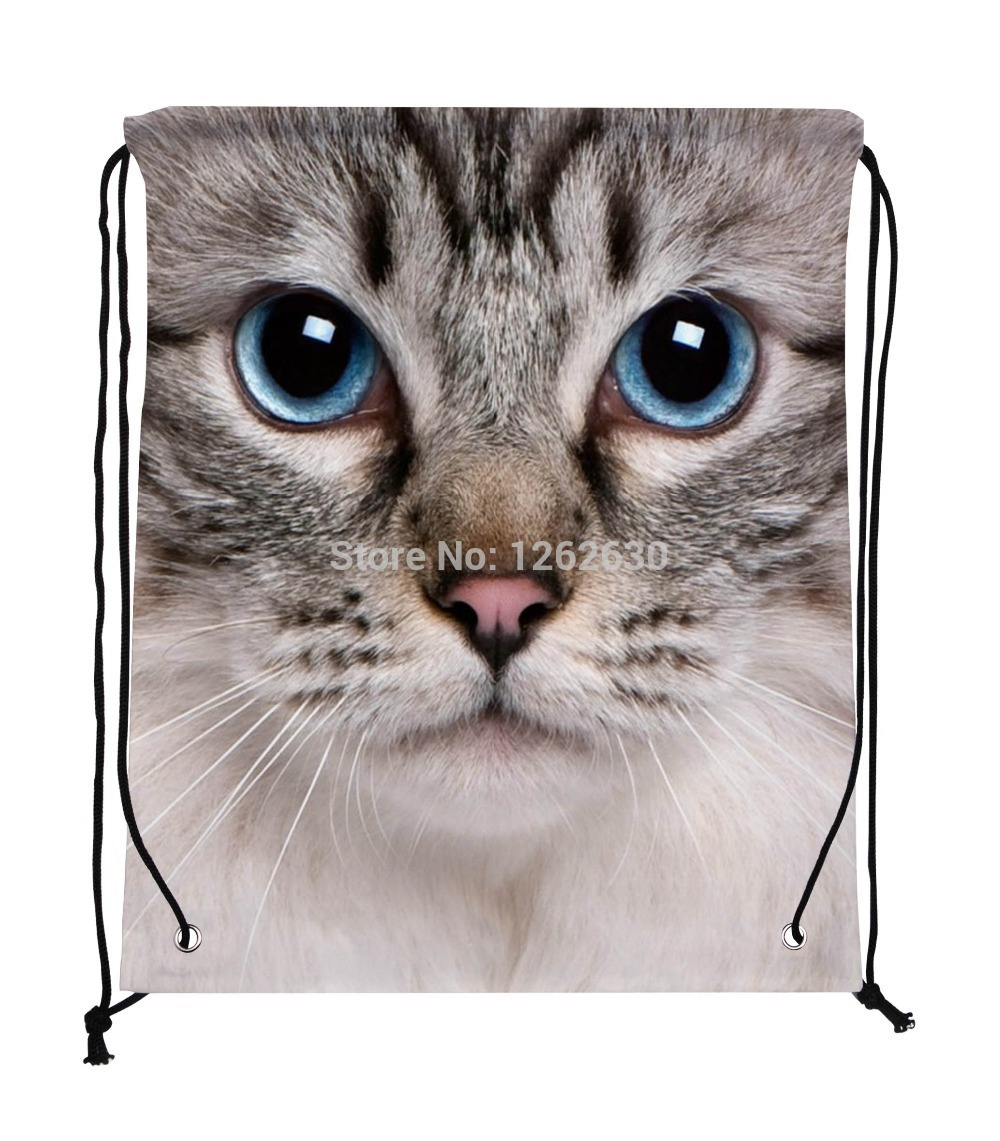 Aliexpress.com : Buy Big Cute Cat animal Face Print Custom ...