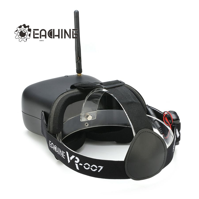 d9f95025db6d New Eachine VR 007 VR007 5.8G 40CH 4.3 Inch HD FPV Goggles Video Glasses  With 7.4V 1600mAh Battery-in Parts   Accessories from Toys   Hobbies on ...