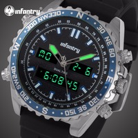 INFANTRY Mens Watches Top Brand Luxury Analog Digital Military Watch Men Tactical Police Army Watches for Men Relogio Masculino