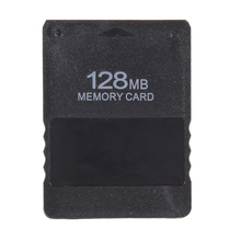 цена на Wholesale Top Quality 128MB 128M Memory Card Game Save Saver Data Stick Module For Sony PS2 for Playstation 2 Free Shipping
