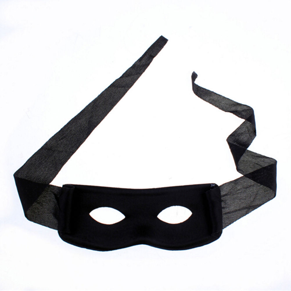Red Black Adult Men Women Villain Joke Bandit Zorro Eye Mask Party Halloween Supplies Theme
