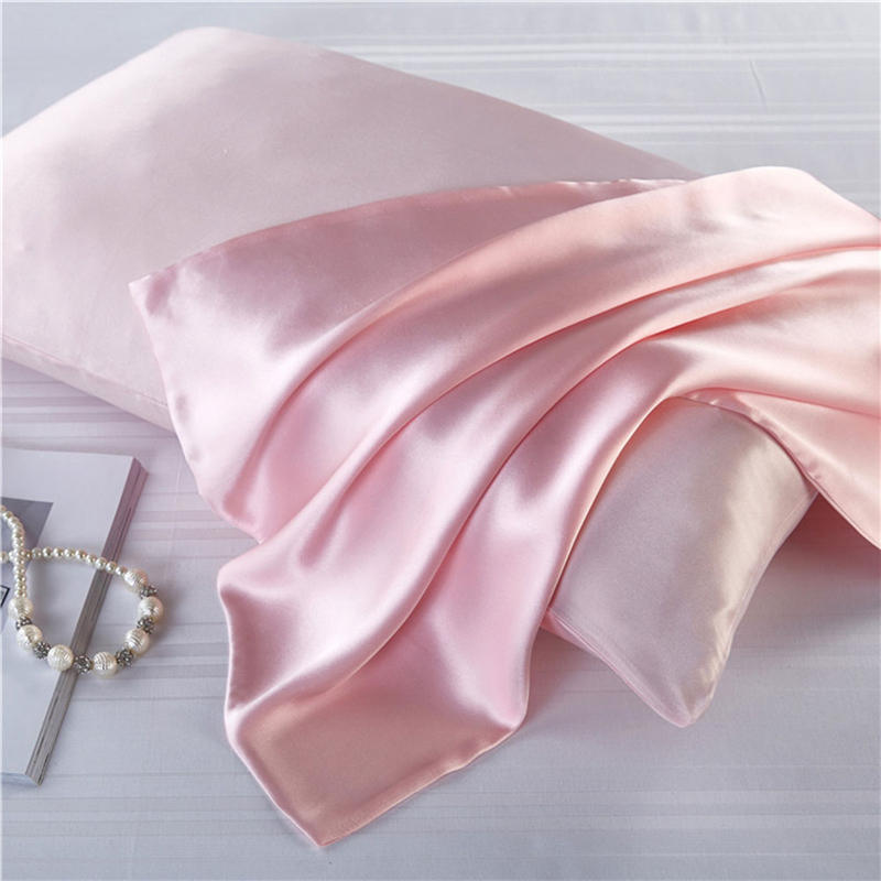 16 Momme 100% Natural Mulberry Silk Pillowcase Zipper Pillowcases Real Silk Pillow Case Cover Satin For Home Bedding 51*76cm
