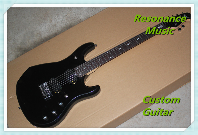 100% Real Pictures Black Music Man John Petrucci JP15 Electric Guitar in Stock For Sale custom shop music man john petrucci electric guitar in sliver sparkle finish