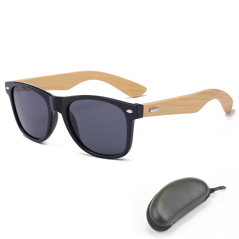 3386e7ccd913 Hot Sale Bamboo Fishing Polarized Sunglasses Men Women High Quality Sun  Glasses Driving Hiking Outdoor Sports Fishing Eyewear-in Fishing Eyewear  from Sports ...