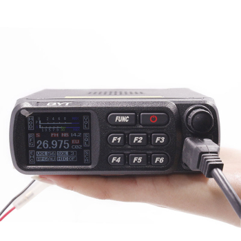 Qyt cb-27 cb radio 26.965-27.405mhz am/fm 12/24v 4 w lcd screen shortware citizen band multi-norms ham cb mobile radio cb 27