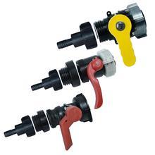 IBC zbiornik na wodę jakości spustowy Adapter 3 4 #8222 wąż ogrodowy kran zbiornik na wodę złącze węża węża ogrodowego Adapter narzędzie do montażu tanie tanio LeKing Other Fitting Tools Z tworzywa sztucznego ton barrel valve adapter nozzle about 20mm