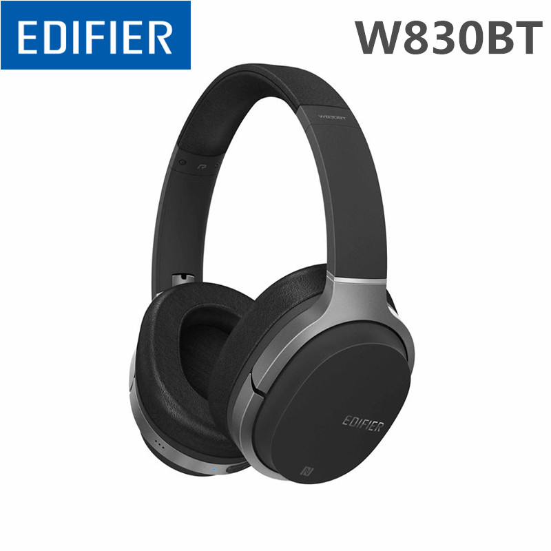 Original Edifier W800BT Stereo Bluetooth Headset Wireless Bluetooth headset music computer noise reduction HIFI headset call mobile phone car vent holder