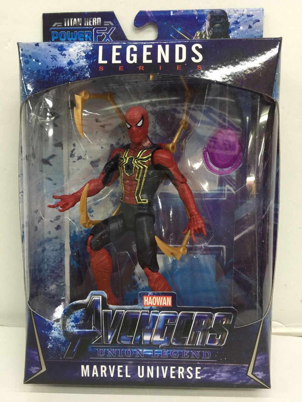 LED Thanos Pantera Negra crianças marvel Capitão América Thor Homem De Ferro Hulk Spiderman Avengers action Figure brinquedos Modelo Boneca