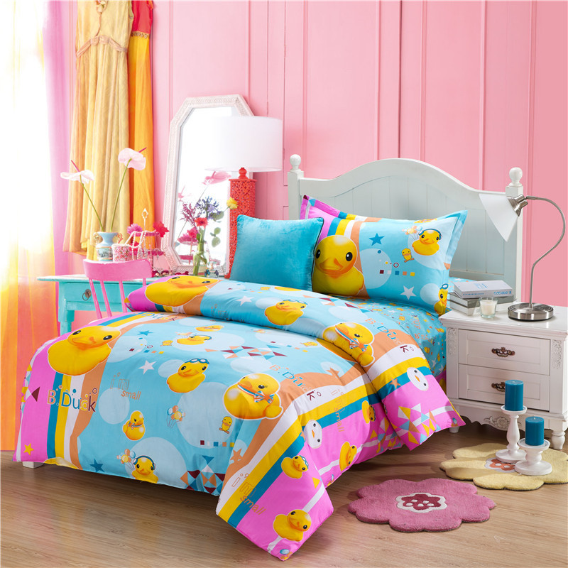 Rubber Duck comforters and quilts kids bedding set anime bed ... : bedding quilts kids - Adamdwight.com