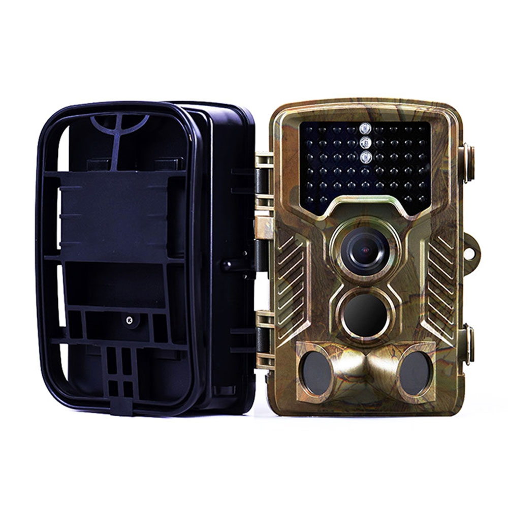 H801 IP56 Waterproof  Hunting Camera Tactical Hunting Camera Infrared Trail Game Dustproof Precise for Outdoor Hunting Camping fire maple sw28888 outdoor tactical motorcycling wild game abs helmet khaki