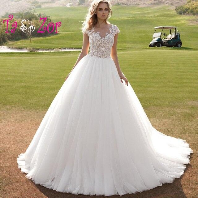 taoo zor vintage robe de mariage vestido de bola vestido de novia